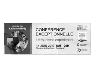 Conférence Le Tourisme Expérientiel – 14 juin