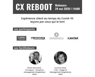 Webinaire CX Reboot – 29 mai